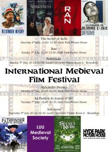 International Medieval Film Festival Poster