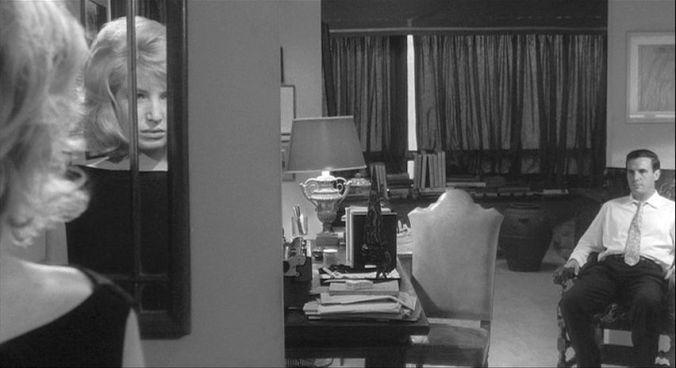 An interior - Monica Vitti as Vittoria.