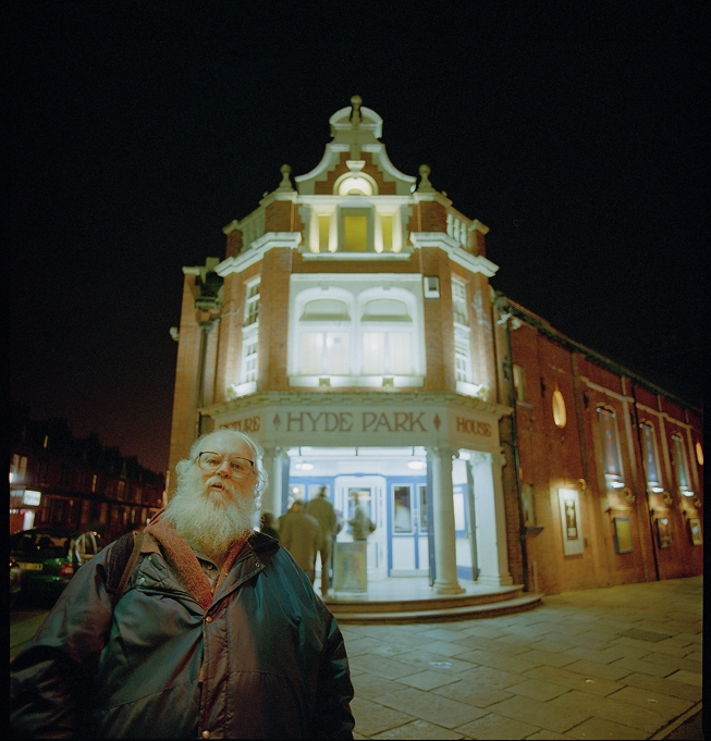 Peter outside the Picture House