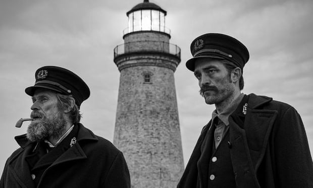 Willem Defoe and Robert Pattinson in The Lighthouse