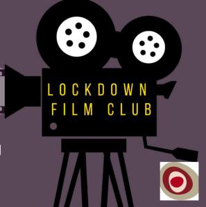Lockdown FIlm Club logo of cinema projector.